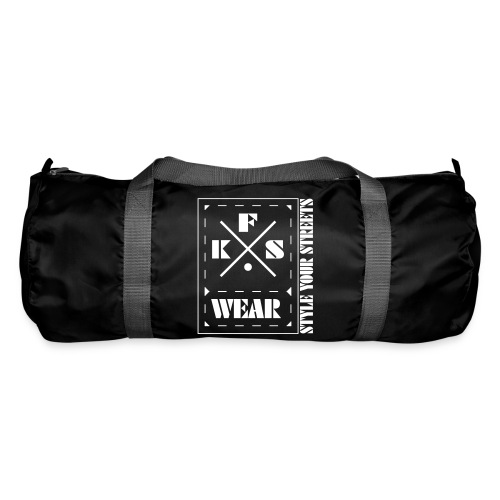 FKS-WEAR: Bag - 3X Logo - white - Sporttasche