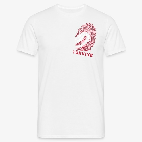 Fingerprint Worldcup Türkiye Away - Männer T-Shirt