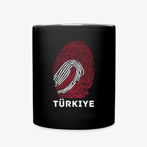 Fingerprint Worldcup Türkiye Cup - Tasse einfarbig