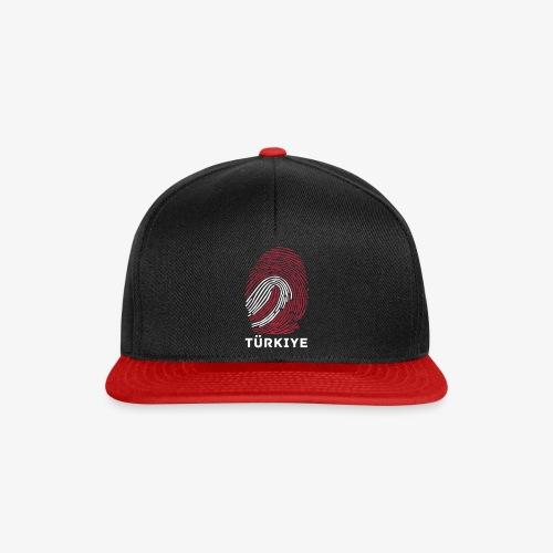 Fingerprint Worldcup Türkiye Cap - Snapback Cap