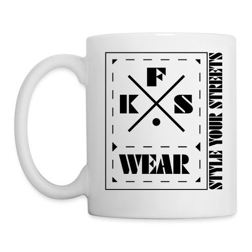 FKS-WEAR: Tasse - 3X Logo - black - Tasse