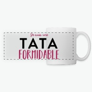 Mug Tata formidable blanc par Tshirt Family