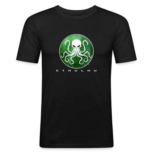 Cthulhu green - T-shirt près du corps Homme