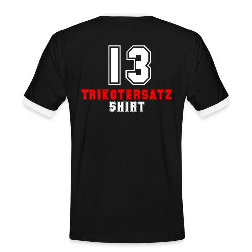 Trikotersatz Shirt - Männer Kontrast-T-Shirt