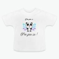 Tee shirt Fée pas ci fait pas ca blanc par Tshirt Family