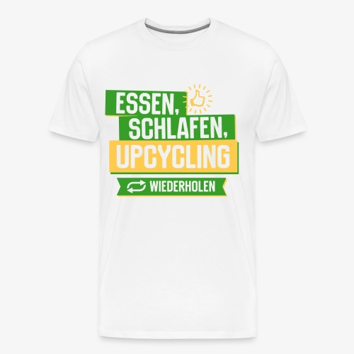 Upcycling - Männer Premium T-Shirt