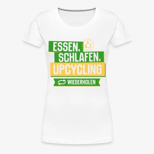 Upcycling - Frauen Premium T-Shirt