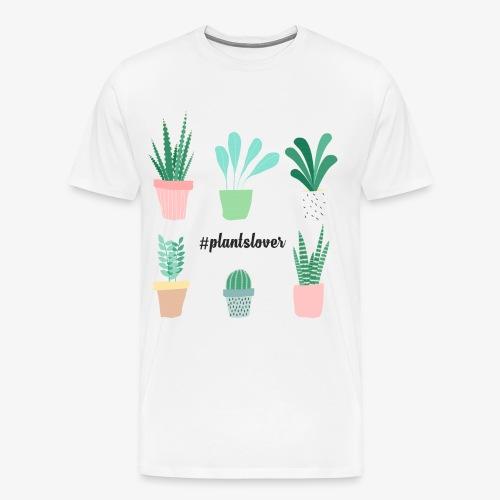 #plantslover - Männer Premium T-Shirt