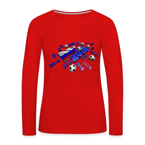 Football Event of the year 2018 - T-shirt manches longues Premium Femme