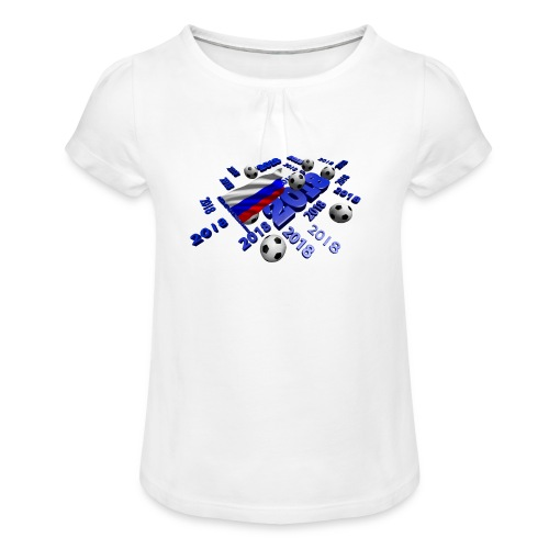 Football Event of the year 2018 - T-shirt à fronces au col Fille