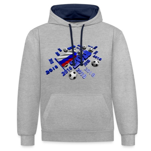 Football Event of the year 2018 - Sweat-shirt contraste