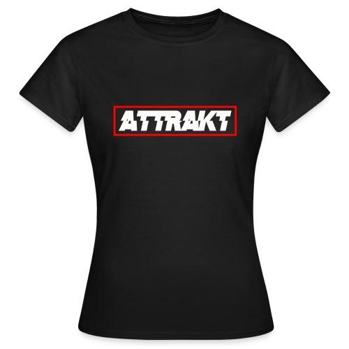 Women's Attrakt Box Logo T-Shirt - Women's T-Shirt