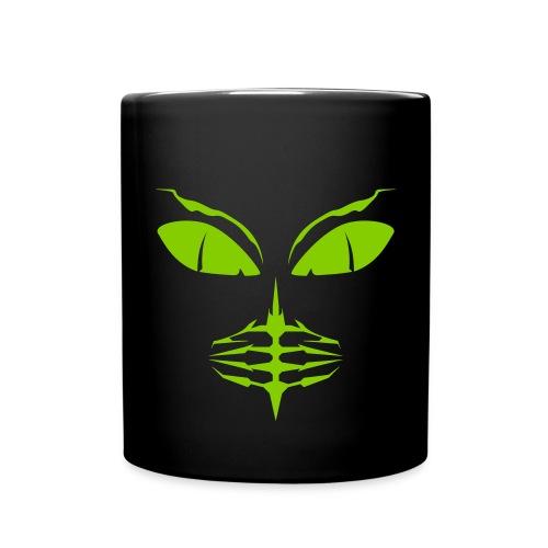 Alien Blatt Tasse - Tasse einfarbig