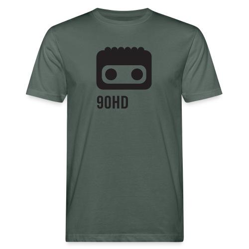 90HD TAPE CASSETTE FACE - Økologisk T-skjorte for menn