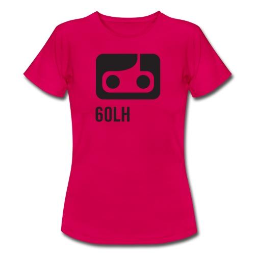 60LH TAPE CASSETTE FACE - T-skjorte for kvinner