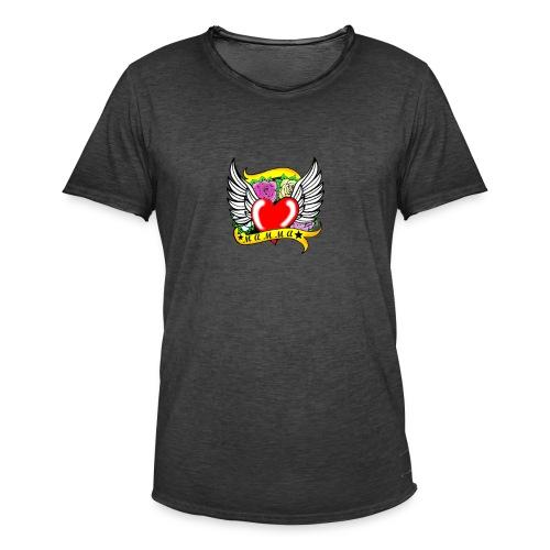 Love you Mom - Men's Vintage T-Shirt