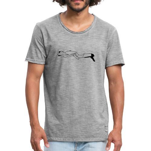 Classic Katana GS1000 outline - Men's Vintage T-Shirt