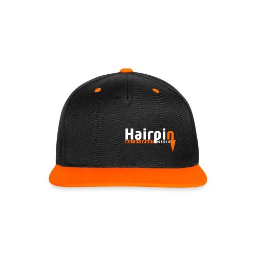 Hairpin Snapback - Contrast Snapback Cap