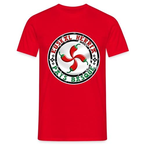 Ezpeleta (Espelette) Pays Basque - T-shirt Homme