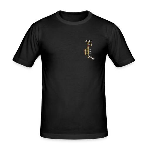 Trompete Slim Fit - Männer Slim Fit T-Shirt