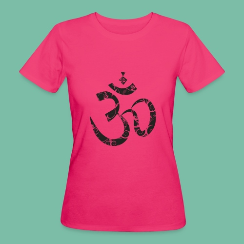 tshirt femme bio yoga Aum - T-shirt bio Femme