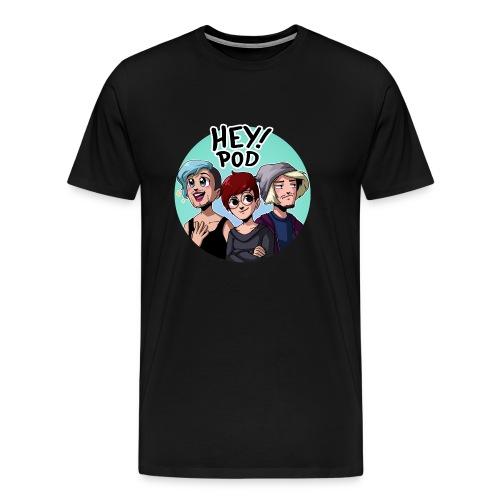 HEYPOD! (Herr) - Premium-T-shirt herr
