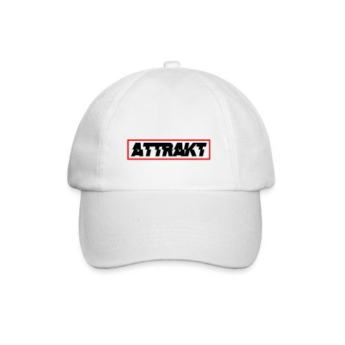 White Attrakt Hat - Baseball Cap
