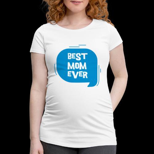 De beste moeder ter wereld - Vrouwen zwangerschap-T-shirt
