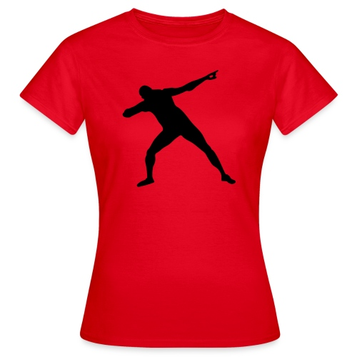 La pose del triunfo - Camiseta mujer