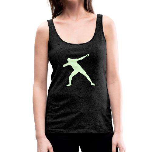 La pose de la victoria - Camiseta de tirantes premium mujer