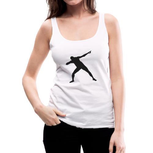 La pose del triunfo - Camiseta de tirantes premium mujer