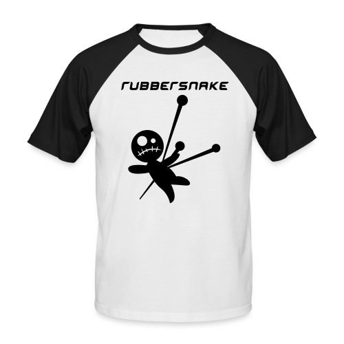Rubbersnake 'voodoo' - Men's Baseball T-Shirt