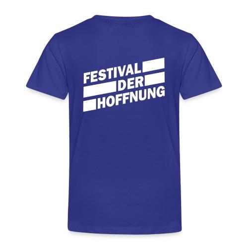 Jungen T-Shirt Rückseite bedruckt - Kinder Premium T-Shirt