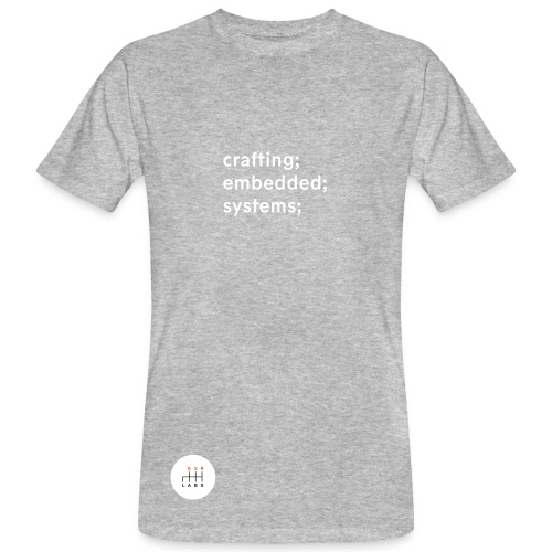 ESR Labs Basic Tee Tagline - Organic - Men's Organic T-Shirt