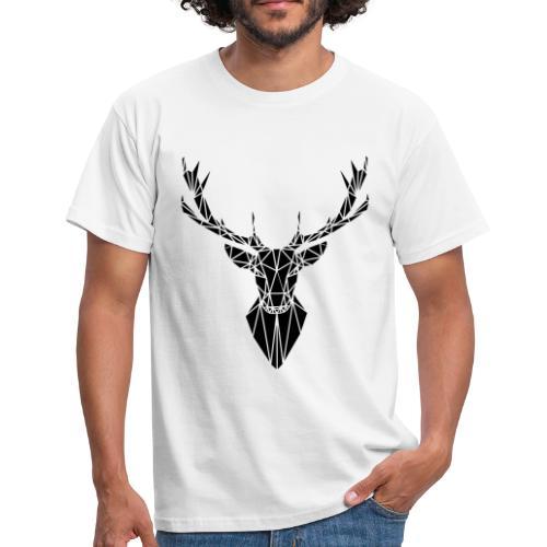 Hirsch T-Shirt - Männer T-Shirt