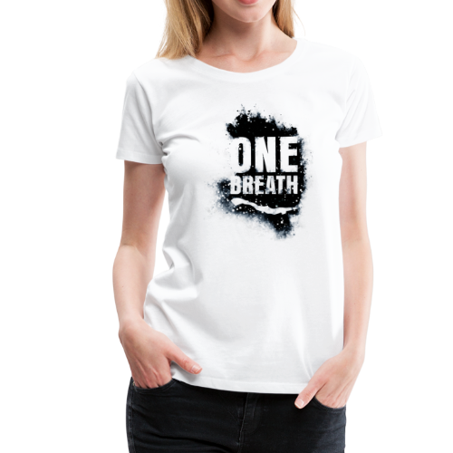 One Breath Grunge Damen - Frauen Premium T-Shirt