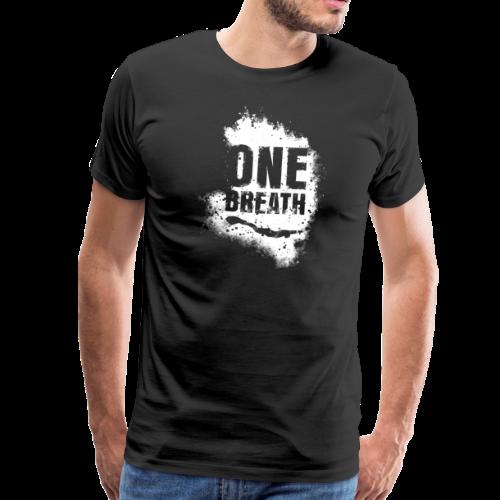 One Breath Grunge Herren - Männer Premium T-Shirt