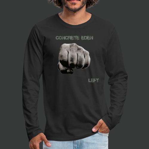 Concrete Eden - Left - Männer Premium Langarmshirt