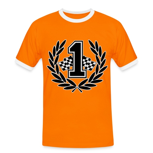 Racing team number one - Men's Ringer Shirt