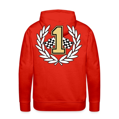 Racing team number one - Men's Premium Hoodie