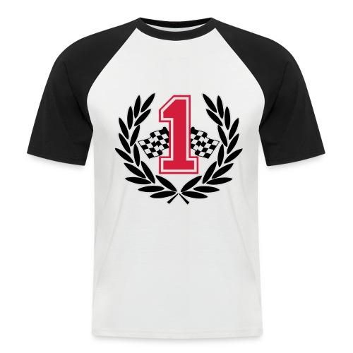 Racing team number one - Men's Baseball T-Shirt