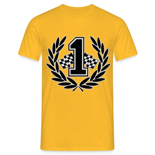 Racing team number one - Men's T-Shirt