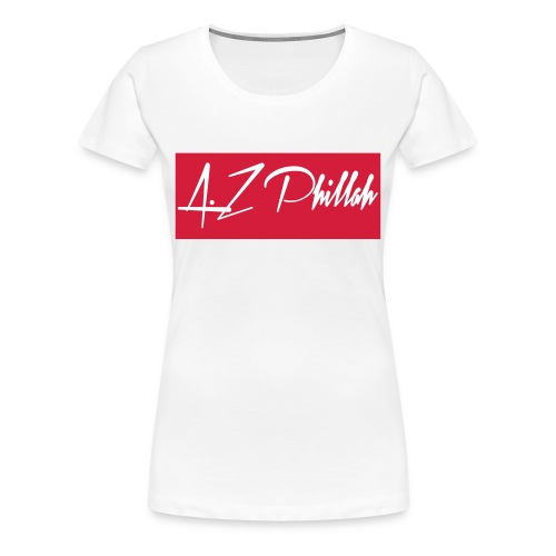 Phillah Fan Shirt Gril - Frauen Premium T-Shirt