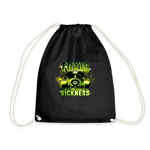NEW Toxic Sickness Drawstring Gym Bag  - Drawstring Bag