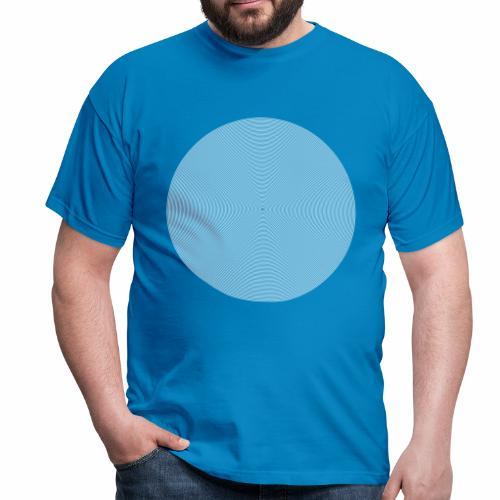 Circle White  - Männer T-Shirt