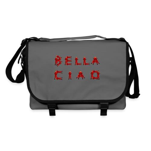 Sac bandouillère Besace gris BELLA CIAO fan de la série La Casa del Papel - Sac à bandoulière