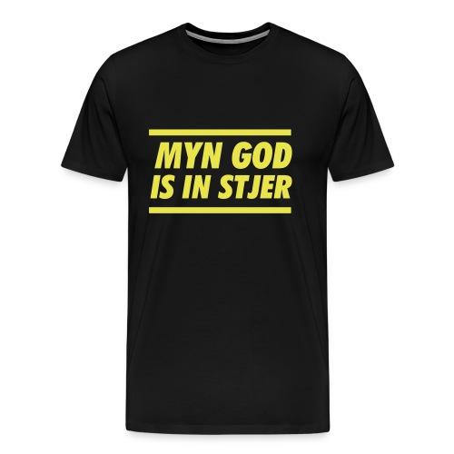 Myn god is in stjer - Mannen Premium T-shirt