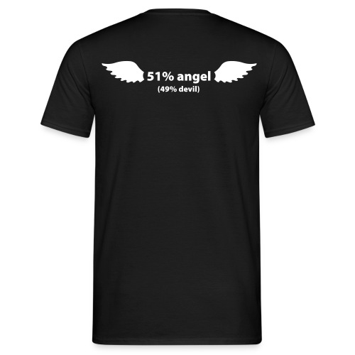 T-shirt 51 angel 49 devil - T-shirt Homme