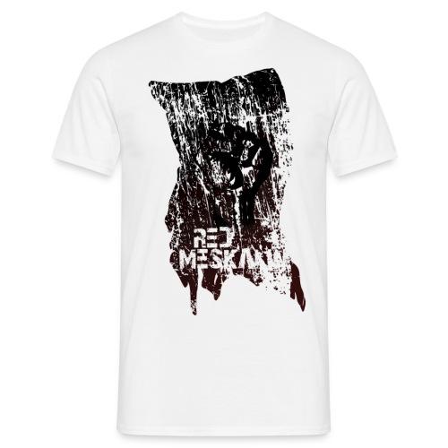 Red Meskalin - Ripped Flag - Männer T-Shirt