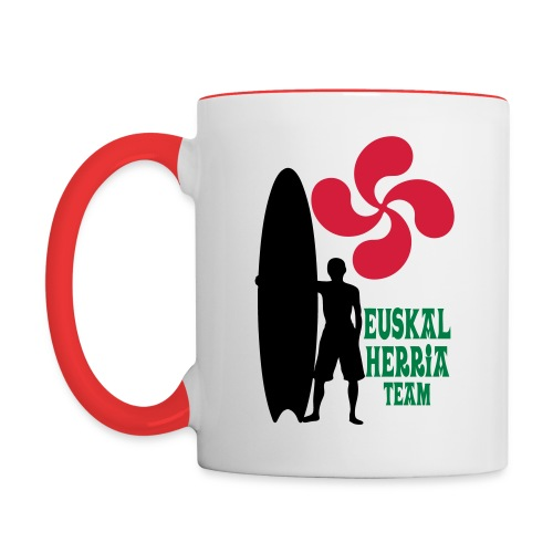 Basque surfing team - Contrasting Mug